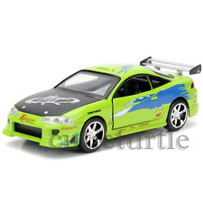 Jada Fast and Furious Brian's Mitsubishi Eclipse 1:32 Diecast Car 97609 Green