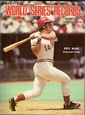 1976 Official World's Series Records from 1903-1975, Team Photos: Reds & Red Sox