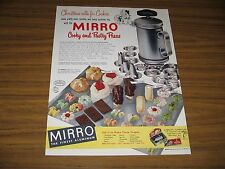 1952 Print Ad Mirro Aluminum Cooky & Pastry Press Fancy Cookies & Pastries