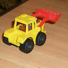 MATCHBOX SUPERFAST VEHICLE by LESNEY  *** TRACTOR SHOVEL ***  No 29e - USED