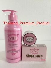 SET 3 Pcs YURI CREAM + LOTION + SOAP FACIAL FOR YOU SUPER FAST WHITENING