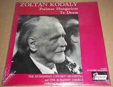 Kodaly conducts KODALY Psalmus Hungaricus, Te Deum - Turnabout TV 4351 SEALED
