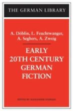 German Library: Early 20th Century German Fiction Vol. 67 (2003, Paperback)