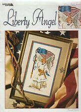 LIBERTY ANGEL ** cross stitch booklet