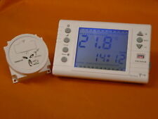 DIGITAL LARGE SCREEN  PROGRAMMABLE WIRELESS/RF THERMOSTAT & BOILER RF RECEIVER