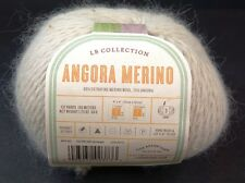 Lion Brand LB Collection Angora Merino Yarn Parchment Wool Angora DK
