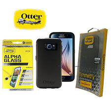 OtterBox Case for Samsung Galaxy S6 Symmetry Series - New!!  + Free ALPHA GLASS!
