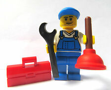 LEGO Minifigure Builder Workman Plumber With Accessories
