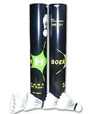 1x Dozen Boer 501 Tournament Feather Shuttlecocks (Yonex alt)