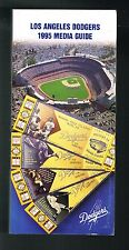 1995 Los Angeles Dodgers Baseball MLB Media GUIDE