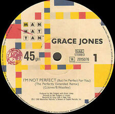 GRACE JONES - I'm Not Perfect (But I'm Perfect For You) - Manhattan