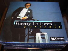 THIERRY LE LURON portrait -  3 cd box set - SEALED / NEW -