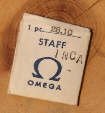 Vintage Omega watch 28.10 RA balance staff rare bumper Omega watch part NOS