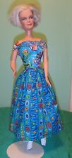 """Fun Under the Sea Dress for 18"""" Supersize Barbie or Tiffany Taylor SSPN90"""