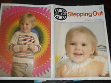 Stepping Out 19 Knitting Patterns for Toddlers See Photos Sirdar 113