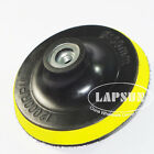 """4"""" 100mm Polisher Bonnet Backing Pad Angle Grinder for Velcro Sand Paper Discs a"""