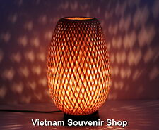 Handmade bamboo night-lamp for home decor - bamboo lanterns for bedside 13''