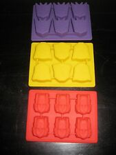 TRANSFORMERS OPTIMUS PRIME AUTOBOTS DECEPTICON BIRTHDAY CANDY MOLD PARTY SET 3