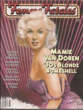 Femme Fatales Magazine February 1997 Mamie Van Doren 50's Bombshell FREE S/H