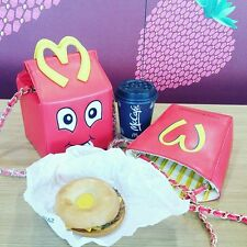McDonald Novità Borsetta. Happy Meal. Designer Inspired Regalo di Natale...