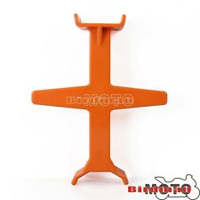 1Pcs Plastic Fork Support Tie Down Seal Saver Protection Brace Motorcycle Orange