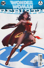 WONDER WOMAN Rebirth #1 Stanley Artgerm Lau Variant DC Rebirth 1st Print NEW NM