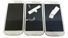 "3 Lot Samsung Galaxy S3 SPH-L710 16GB 4.8"" Smartphone CDMA Sprint Used For Parts"