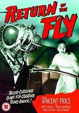 Return Of The Fly 2012 Vincent Price, Brett Halsey, David Frankham NEW UK R2 DVD
