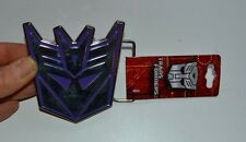 "Transformers Logo Metal Belt Buckle 3"" by 3.5"" Officially Licensed Merchandise"
