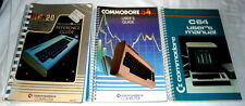 Three Commodore Books
