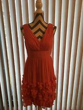 dress Donna Morgan,Size 6,Peach(coral),Sexy , New, Knee