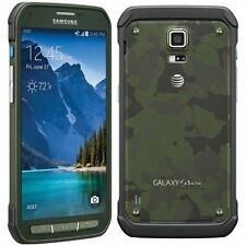 New Unlocked AT&T Samsung Galaxy S5 ACTIVE SM-G870A GSM Smartphone CAMO GREEN