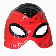 TheSexShopOnline - Half Head Studded Executioner Elasticated Gimp Mask