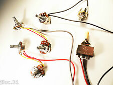 New KIT câblé Les Paul & SG + on/off- wiring kit - pour guitare Gibson, Epiphone