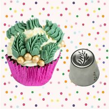 Exclusive! Fern Russian Leaf Piping Tip Cake Decorating Pastry Baking Tool (1)