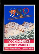 AK Winter-Olympiade Garmisch-Partenkirchen 1936