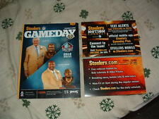 PITTSBURGH STEELERS vs PHILADELPHIA EAGLES GAMEDAY PROGRAM 10/7/12 butler dawson