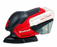 Einhell TE-OS 18 Li Solo Power X-Change 18 V Lithium Cordless Multi Sander wi...