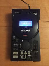 Tascam Mixwell CD-DJ1 Portable DJ CD MP3 Player Turntable CDJ