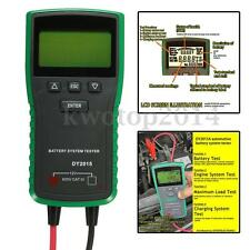 12V Digital Auto Car Vehicle Battery Tester System Load Battery Analyzer CCA