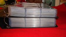 X-FILES  2 BINDERS FULL of 12 base sets ( 954 cards)