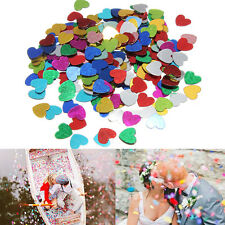 Multi-Color Romance Sparkle Love Heart Wedding Party Confetti Table Decoration