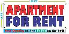 APARTMENT FOR RENT All Weather Banner Sign NEW Larger Size High Quality! XXL