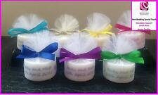 Personalised Candle Tealight Wedding Favours in any colour (Set of 25)