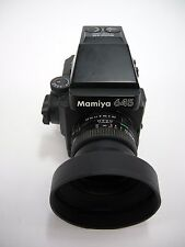 Mamiya 645 Super Complete Kit with AE Prism Finder, 80MM F2.8 'N' , & 120 Mag