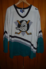VINTAGE NHL ANAHEIM DUCKS USA ICE HOCKEY SHIRT JERSEY MAGLIA STARTER