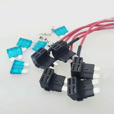 5x ATO ATC Add A Circuit Fuse Tap Piggy Back Standard Blade Fuse Box Holder DIY