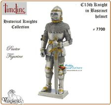 Pewter Medieval C15th.Knight in Bascinet Helmet Time Line 4.25in Ancestors 7700