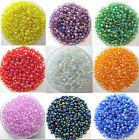 New 1200 Pcs Colorful Round Czech Glass Spacer Loose Beads Jewelry Findings 2 mm