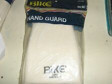 NEW VINTAGE BIKE #14 HAND GUARDS WHITE   BRAND NEW IN PACKAGE MEDIUM